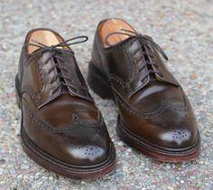 Tipos de zapato Brogue. Full-brogue. Los más informales.