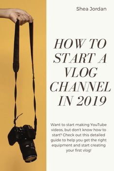 Always wanted to start a YouTube channel? Check out this video to learn how you too can start vlogging in 2019!   #youtube #howtostartayoutubechannel #howtovlog #howtovlogyoutube