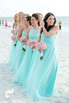 Turquoise and Coral Naples Wedding ⋆ Nico & Lala