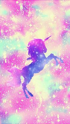 Unicornios🦄🦄 Unicornios Wallpaper, Ombre Wallpaper Iphone, Rainbow Wallpaper, Cute Wallpaper Backgrounds, Animal Wallpaper, Pretty Wallpapers, Galaxy Wallpaper, Unicorn Painting, Unicorn Drawing