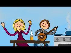 Jack saß in der Küche - Kinderlieder / Bewegungslieder deutsch - YouTube