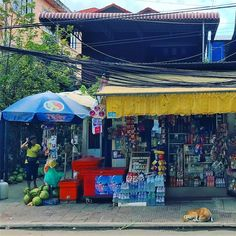 a typical local #store in Siem Reap. #shop #shopping #street #streetlife #streetphotography #streets #streetview #travel #travelgram #traveling #travelphotography #cambodia #asia