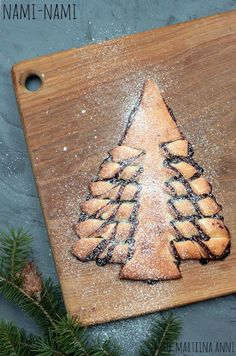 Nutella-kuuseke. Nutella christmas tree. (Nami-Nami jõulukalender 2015). #naminamijõulud #naminamichristmas #nutella #jõulud #christmas