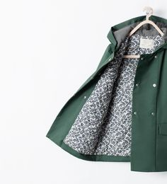kid's coat from Zara Baby Girl Fashion, Toddler Fashion, Kids Fashion, Fashion 2020, Fall Fashion, Kids Outfits, Cute Outfits, Kids Coats, Double Breasted Coat