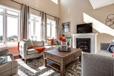 Family Room | Interior Decor | Home Staging | Neutral Decor | Living Room Inspiration Interior Decorating, Interior Design, Home Staging, Home Organization, Room Interior, Room Inspiration, Family Room, Neutral, Living Room