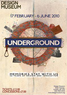 Yasir Ali: A-B London Underground [University Project 2010]