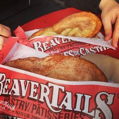 Beaver Tails Recipe - Key Ingredient