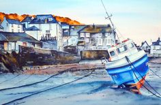 Landscape gallery of Martin Sloman. Martin Sloman Watercolour Artist, based in Cromford, Derbyshire has over 15 years exprience and teaches watercolour classes. He also owns Cromford Studio and Gallery. Port Isaac, In This Moment, Watercolor, Studio, Gallery, Artist, Artwork, Nature, Landscapes