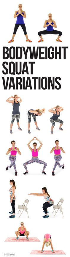 Try these fun no-equipment squats!