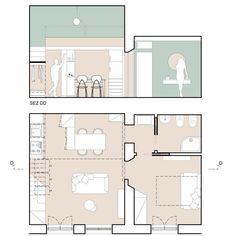 Concept Models Architecture, Architecture Panel, Architecture Graphics, Modern Architecture House, Architecture Details, Interior Design Portfolios, Interior Design Work, Interior Rendering, Autocad Layout