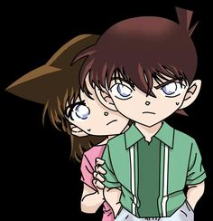 Little Shinichi and Ran