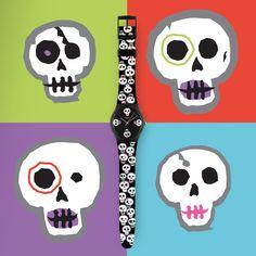 """Swatch """"Dia de Muertos"""" Watch"""