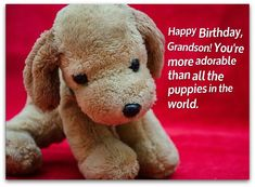 Grandson Birthday Wishes: Birthday Messages for Grandsons