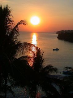 Couples Tower Isle, Tower Isle, Jamaica — by Michelle Finseth. Sunset over the Caribbean Sea from our balcony at the Couples Ocho Rios all-inclusive resort. A wonderful place to...