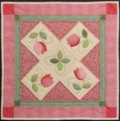 quilt patterns | Today's tutorial is on making appliqués with a paper pattern for ...