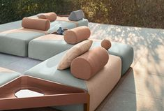 Dedon modular seating, love the flexibility