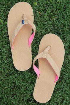 Hari Mari Flip Flops -- cute, comfy & they do some good!