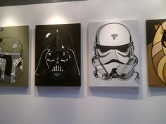 Star Wars are for boys room Star Wars Room, Star Wars Decor, Star Wars Art, Disney Stairs, Star Wars Painting, Star Wars Drawings, Geek Decor, Bubble Art, Love Stars