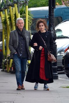 Helena Bonham Carter was enjoying some down time on Tuesday, going for a leisurely walk with fellow thespian Denis Lawson around north London. Scottish Actors, British Actors, Detective, Denis Lawson, Wedge Antilles, Helena Bonham Carter, Ewan Mcgregor, Nerd Love, Bbc One