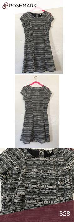 H&M Black and White Bobo Dress Super cute dress by H&M Divided. Cute to dress up or down. Offers welcome H&M Dresses
