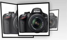 Harga Nikon D3200 - DSLR Nikon D3200  24.2 MP Memori 8 GB
