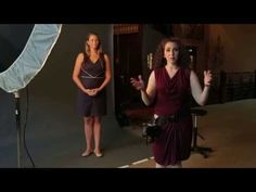 Posing Full Figure Women with a One Light Setup - YouTube