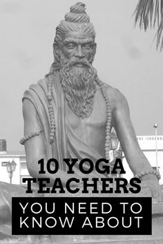 Yoga is chock full of influential and inspirational teachers whose lessons can help guide you along your path. If you are not sure where to start researching, talk to one of your yoga teachers—they are sure to have some suggestions.