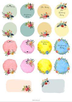 Kolorowe etykiety na Dzień Matki i nie tylko - Life in Colour