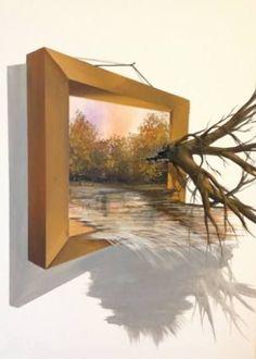 Imagini pentru efect 3 d in pictura