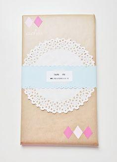Doily Packaging / Envoltorios con Blondas - Fácil y Sencillo | Fácil y Sencillo