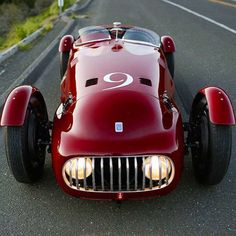 Nardi-Danese 6C 2500 Alfa Romeo circa 1948. One of only three ever made by Enrico Nardi a test driver and engineer at Lancia and for Scuderia Ferrari.
