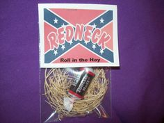 Gag gifts for your favorite REDNECK by CraftsbyCindi on Etsy, $1.00
