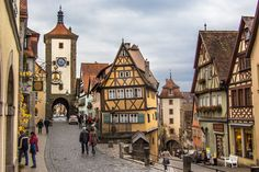 メルヘンの世界のように可愛らしい街 ドイツ ローテンブルクのおすすめスポット