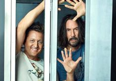 It's official: Keanu Reeves and Alex Winter will reprise their roles in 'Bill & Ted Face the Music.' The third Bill & Ted film is currently in pre-production and will be directed by Dean Parisot. Keanu Reeves, Movie Sequels, 3 Movie, Frank Zappa, Winona Ryder, Natasha Romanoff, Ted, John Wick, Toy Story