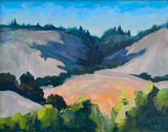 """Terrestrial Magnetism,"" oil, by artist Barbara Lawrence"