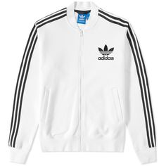 Adidas Adicolor Fashion Track Top ($78) ❤ liked on Polyvore featuring men's fashion, men's clothing, men's activewear and men's activewear jackets