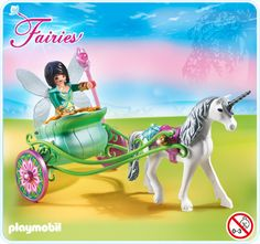 Playmobil - Butterfly Fairy Carriage - 5446 - Bunyip Toys