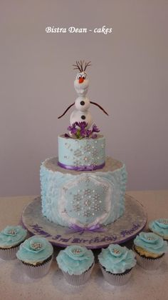 OLAF  ... <3 - Cake by Bistra Dean