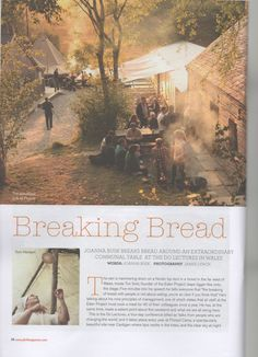 The Do Lectures at fforest, a wonderful write up of the Do Lectures in the Welsh issue of Fork Magazine.