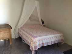 Main Bedroom with King size bed un upper level, Panarea.