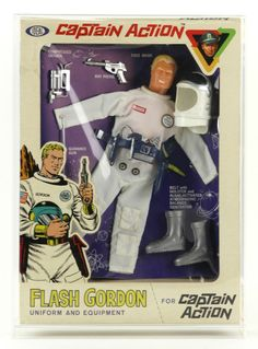 1966 Ideal Captain Action Flash Gordon Action Figure (MIB)