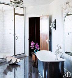 Ozzy and Sharon Osbourne Bathroom