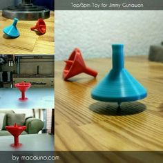 Top / Spin Toy for Jimmy Gunawan 3D model, macouno