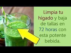 Limpia tu hígado y baja de Peso en 72 horas con esta potente bebida - YouTube