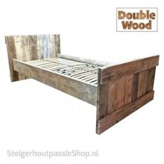 Bed Double Wood Lotte