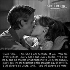 """""""menulissenja: Romantic Movie Quote"""" 