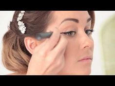 like this diy. i have someone doing my wedding make up, but this is good to bank for another day!