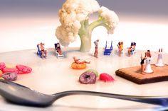 William Kass crea mundos de ensueño habitados por gente miniatura - Antidepresivo : Antidepresivo