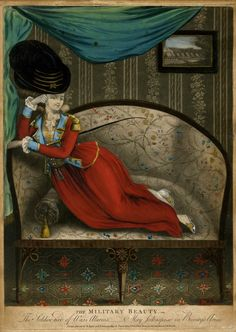 The Military Beauty, Feb 6, 1781, British Museum, 2010, 7081.1302
