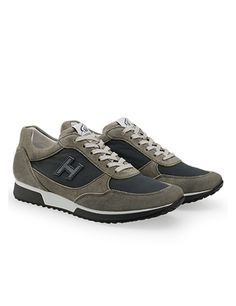 #HOGAN Men's Spring - Summer 2013 #collection: split leather #sneakers H198.